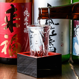新鮮鮮魚×日本酒のマリアージュ!うまい魚料理と日本酒!