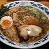 九州らーめん亀王 - 料理写真:【亀王らーめん 昔味 + 半とろ玉のせ】¥650 + ¥0(税抜)