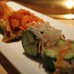 焼肉の古賀 - キムチ(大根・白菜・きゅうり)