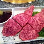 松蘭 - 牛肉の刺身