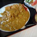 徳次郎食堂 - チキンカツカレー