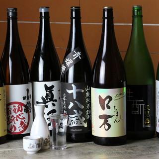 ◎厳選◎季節の日本酒をご用意しております!