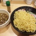 中華そばつけ麺 永福 - つけ麺☆820円(普通で2玉分)