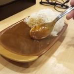中華そばつけ麺 永福 - 中華そばセットのカレーです☆☆