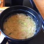 原田八幡 - 味噌汁
