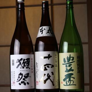 """日本酒なら""""十四代""""を。ワインとのマリアージュを愉しんで。"""
