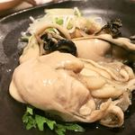 海の日  - 牡蠣のオイル漬け