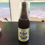 空港食堂 - 2017年11月27日  オリオン瓶ビール