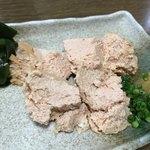 笹新 - 自家製あん肝豆腐