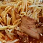 四条にぼ次朗 - 太麺とチャーシュー