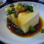 中国上海料理 豫園 - 小鉢(冷奴)