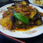 中国上海料理 豫園 - 麻婆茄子
