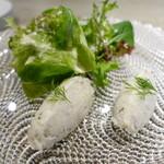 L'ESSOR - 鱈のブランダード 菜園風