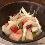 リストランテ ブォーノ - ずわい蟹のカプレーゼ