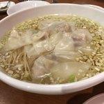 鴻 - 海老入りワンタン麺