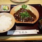 77120605 - 味噌とんかつ定食
