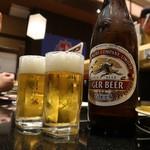 廻る富山湾 すし玉 - 瓶ビール