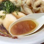 一番いちばん - 鶏清湯(大つけ麺博2016)