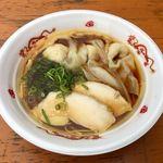 一番いちばん - 「鶏醤油らぁ麺」860円+、「地鶏肉ワンタン(3個)」200円(大つけ麺博2016)