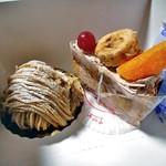 菓子工房 風花 - 購入したケーキ類