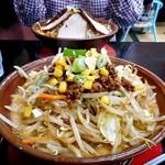 らーめん家 コトブキ - 料理写真:ゴマ野菜らーめん(ゴマ濃い目)