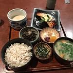 大黒屋 - 麦とろめかじき焼定食