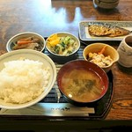 みち草亭 - ランチ さかな定食
