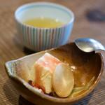 徳山鮓 - 2017.11 鮒鮓の飯(いい)のアイス 喜界島の黒糖