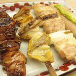 77125691 - レバー、ぼんぼち、ねぎ肉、ささみ