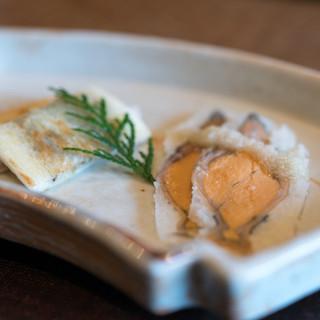 徳山鮓 - 料理写真:2017.11 鮒鮓 余呉の蜂蜜、鮒鮓サンドイッチ