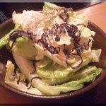 しゃぶしゃぶ温野菜  - サラダ(2011/5/2)