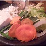 しゃぶしゃぶ温野菜  - 野菜(2011/5/2)
