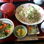 7713851 - マイタケ天蕎麦セット