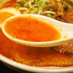 辛いラーメン14 - 辛味噌3倍(スープ)