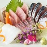 りん - 全国の産地に料理人が赴き信頼できる仕入先から直送。四季折々の旬の魚が堪能できる『お造り盛り合わせ』