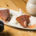 りん - 日本酒と相性抜群の自家製『からすみ』