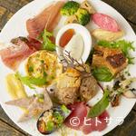 ビストロ オリーブ - さまざまなビストロ料理が一皿で楽しめる『前菜盛り合わせ』