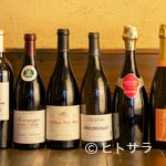 ビストロ オリーブ - 幅広いラインナップのワイン。好みのワインが見つかるお店