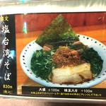 中村商店 - メニュー