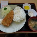 半田屋 - 料理写真:三陸産さんまのフライ定食