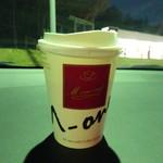 矢板北PA上り線 ショッピングコーナー - ドリンク写真:ホットコーヒー150円