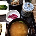 レストラン クロワッサン - 和定食の右側