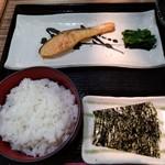 レストラン クロワッサン - 和定食の左側