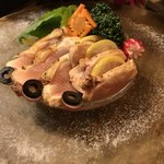 バル 肉屋のYOSHIDA - 鶏のタタキ