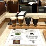碑文谷バル - クラフトビール飲み比べ 1,000円