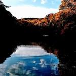 白笹うどん 多奈加 - すぐ近くの湖