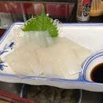 久村の酒場 - イカ刺し 900円税別(時価)