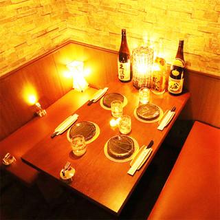 全席個室!お客様にぴったりの華やかなお席をご提供!