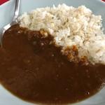 粉工房 イケ麺 - B定食 半カレー