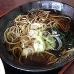 松葉 - 料理写真:セットのミニそば